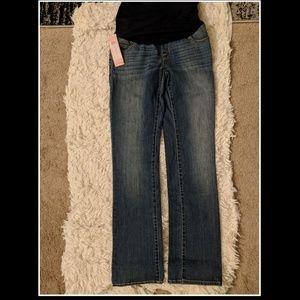 Liz Lange target Maternity Denim Boot Cut jeans